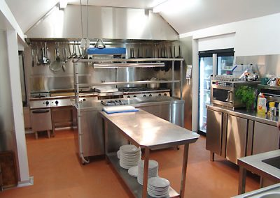 Kevington Hotel's New Kitchen
